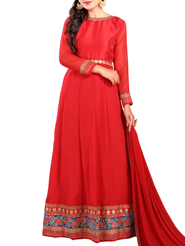 long-length Anarkali suits