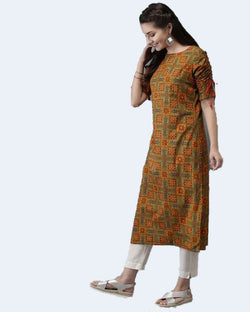 Descent kurti pant set