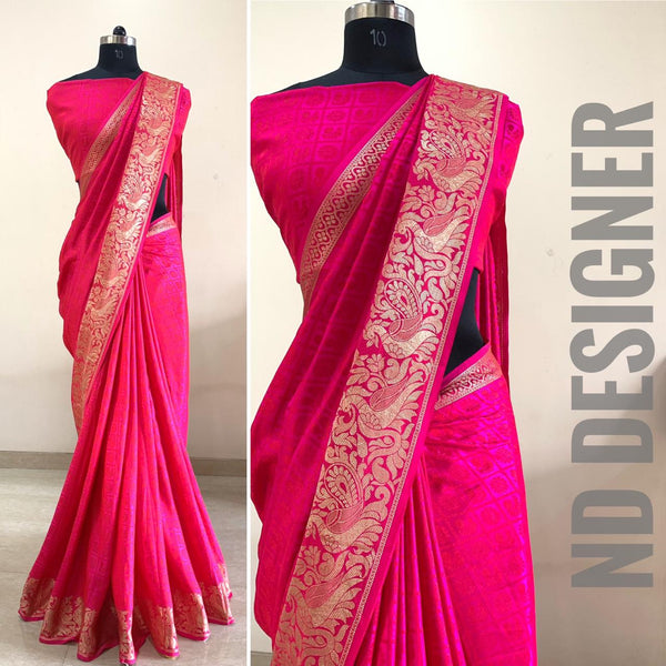 Festive silk saree
