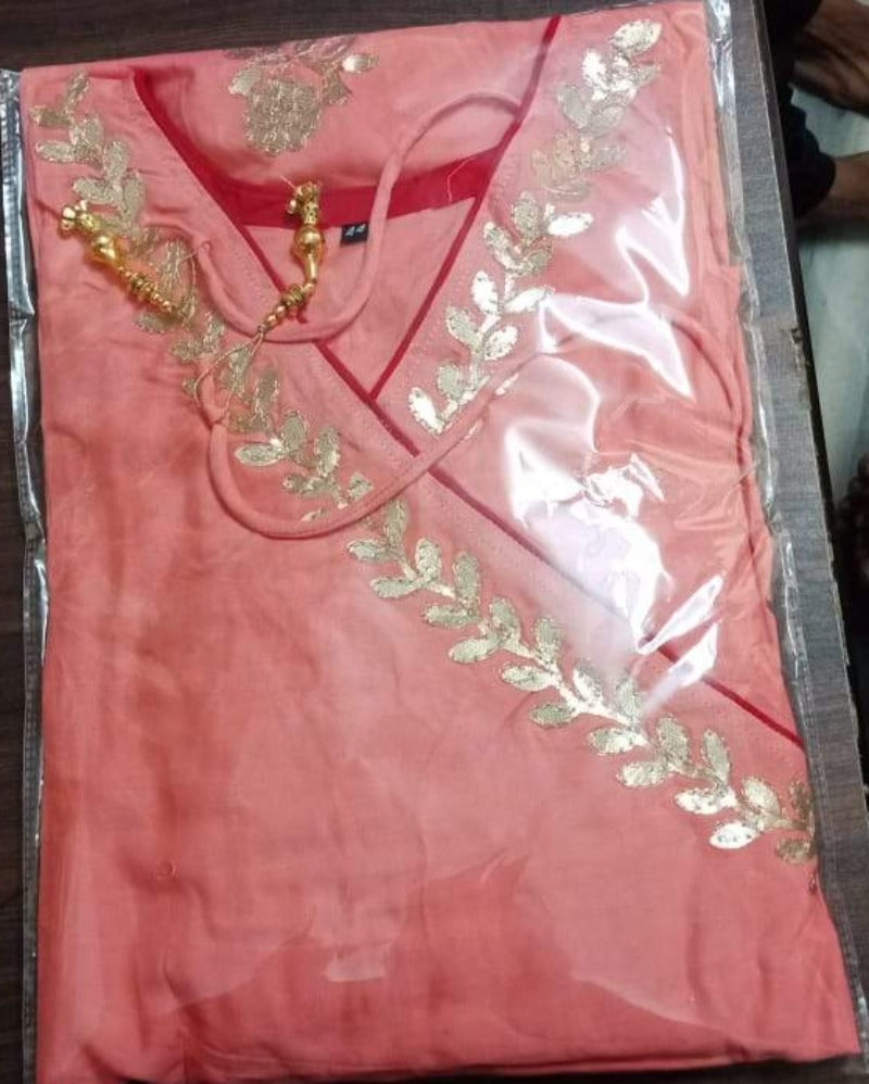Pink Gota Festival Gown