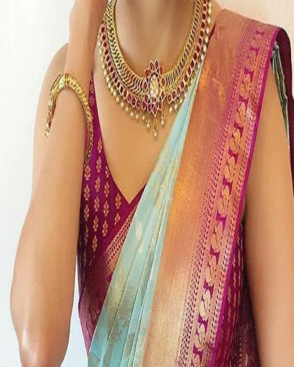 Festive Kanchipuram Silk Saree