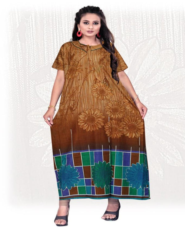 Designer Cotton Nighty