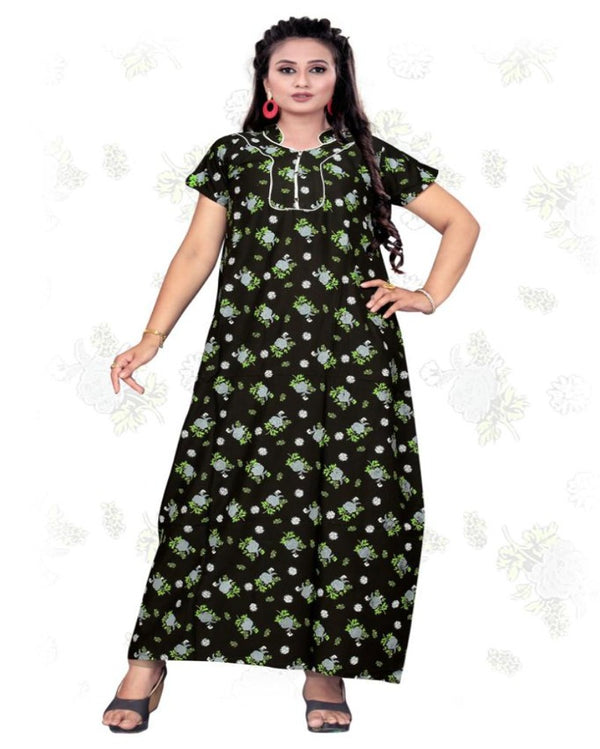 Cotton Printed Maxi