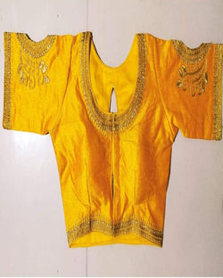 Yellow Work Stone Blouse