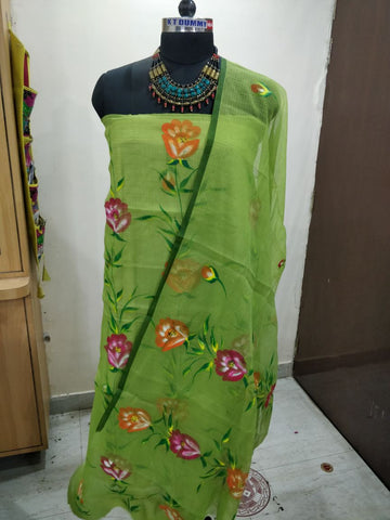 jasmeen cotton dress material