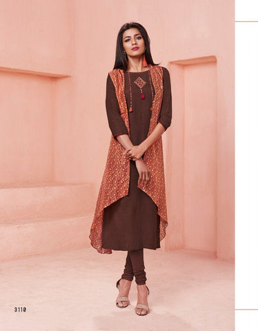 jacket kurti stylish