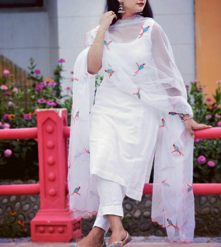 White dress holi collection