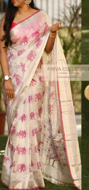 Summer Linen Saree