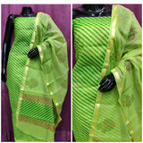 Green kota dress material