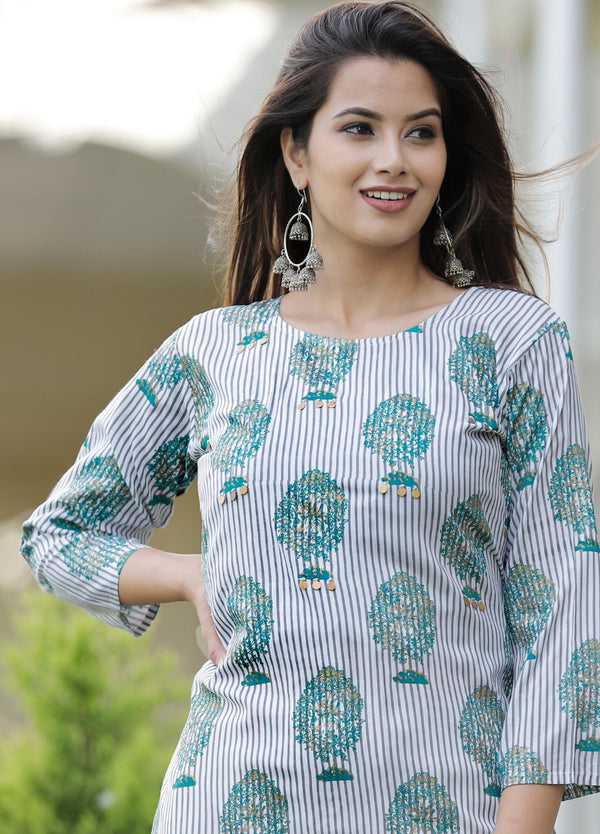 Simple Kurti Pant Set