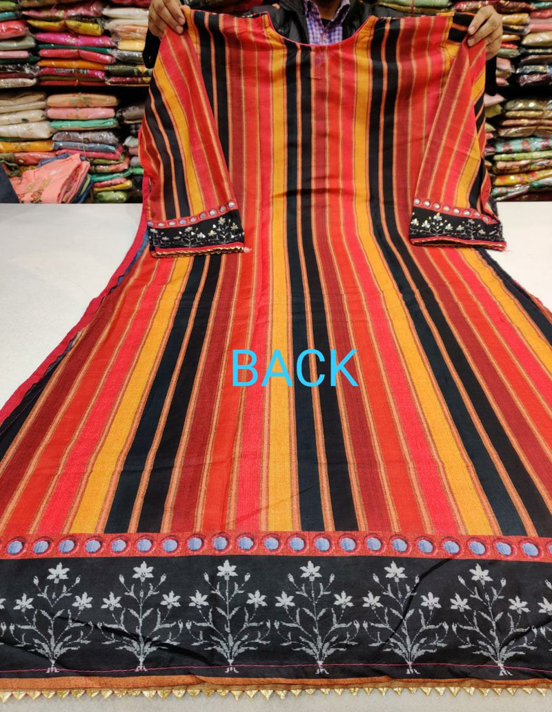 Multi colour cotton dressmaterial