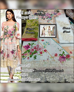 cambric cotton dress material