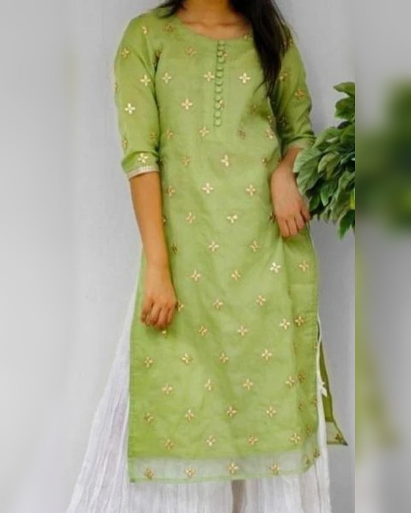 Cotton kurta skirt