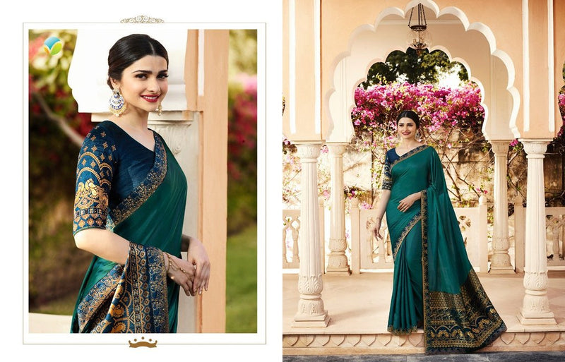 Embroidery Traditional Silk Saree