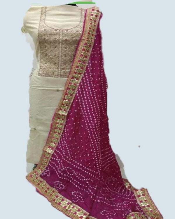 Gotta Patti Georgette traditional dress material
