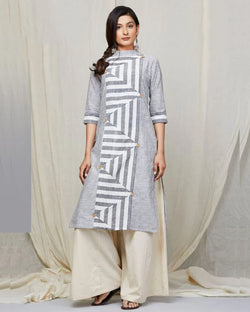 Khadi Cotton Casual Kurti