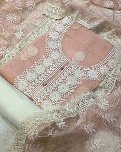 Kota thread work dressmaterial