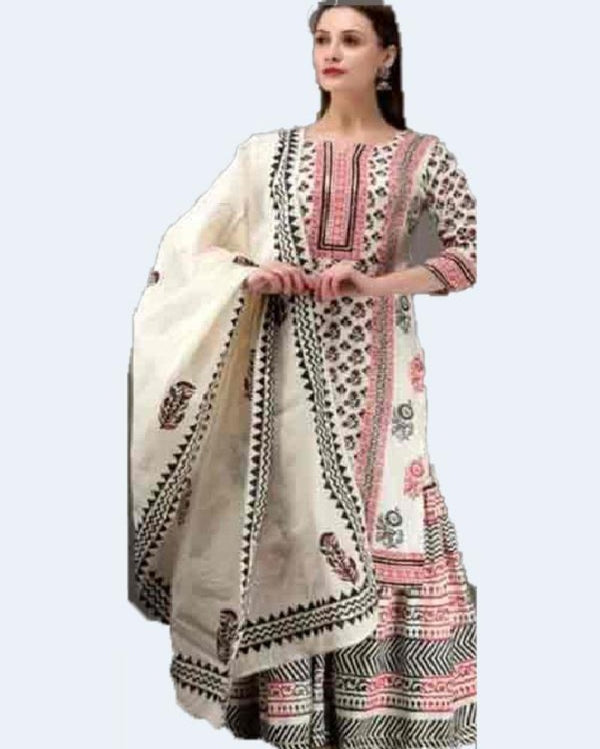 Summer sharara with dupatta