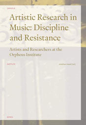 'Artistic Research in Music' selected for the 2018 AUP Book, Jacket, and Journal Show