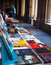 Visit our book stand!