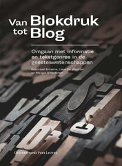 Cover 'Van blokdruk tot blog'