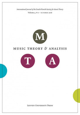Music Theory and Analysis Volume 3 Issue II, 2016 (Journal Subscription)