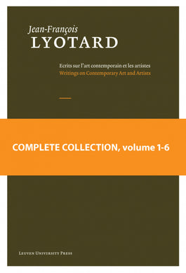 COMPLETE COLLECTION Jean-François Lyotard