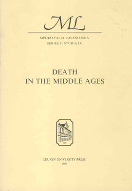 Death in the Middle Ages