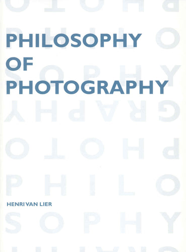 Philosophy of Photography