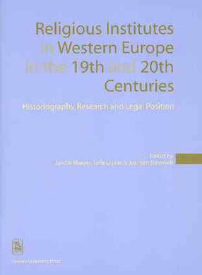 Religious Institutes in Western Europe in the 19th and 20th Centuries