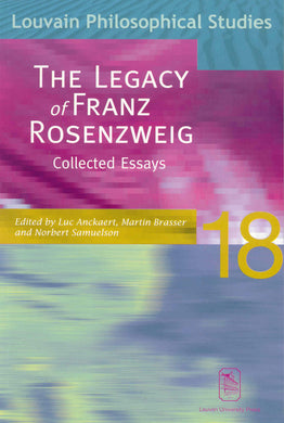 The Legacy of Franz Rosenzweig