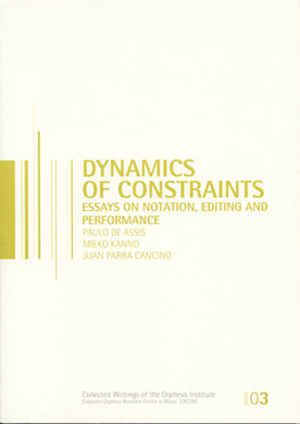 Dynamics of Constraints