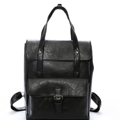 Elegant Fashionable Vintage Style PU Leather Backpack For Girls