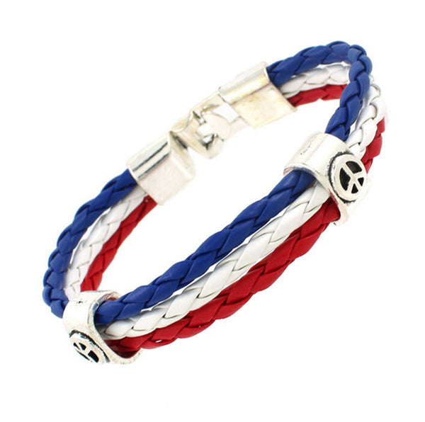 Bracelets drapeau national
