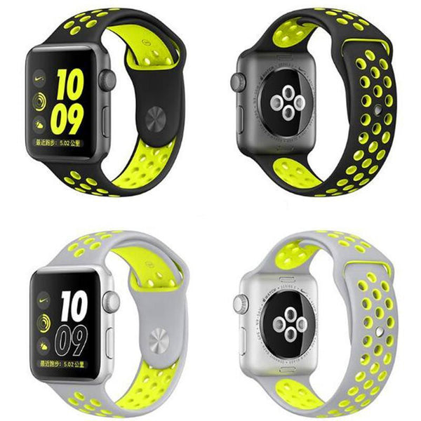 Bracelet silicone COLLORFULL  pour APPLE WATCH