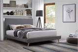 Vita | Queen Bed Frame | Grey