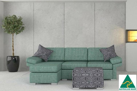 The Wembley 2.5 Chaise sofa is built to last, purchase yours from Quality Sleep today for Free Fast Home delivery to Brisbane and Gold Coast