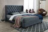 Zara | Queen Bed Frame | Grey