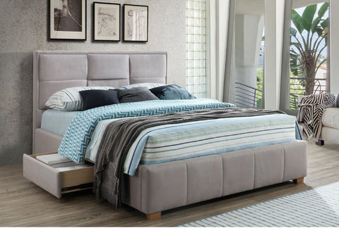Kingston | Queen Bed Frame | Grey or Black