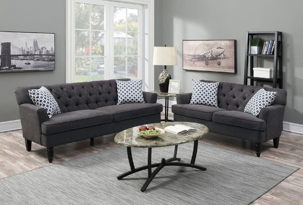 Bermuda 3 Seater ( Dark Grey )