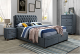 Byron | Queen Bed Frame | Grey