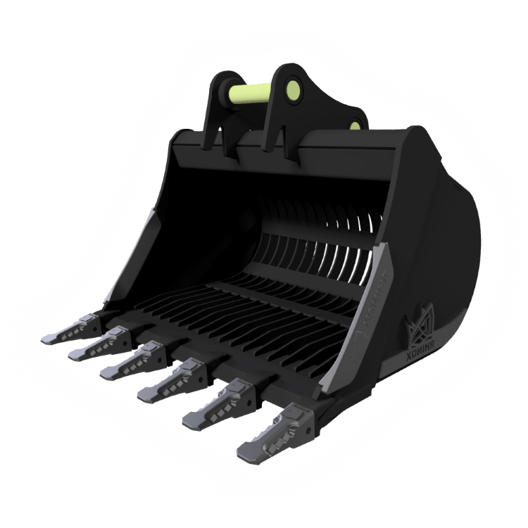 Excavator Bucket and Attachment Types Available