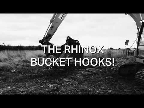 Rhinox Bucket Hooks - Reduce Manual Handling!