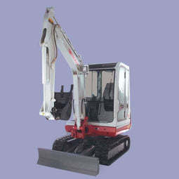 Takeuchi TB125 Digger Buckets and Attachments