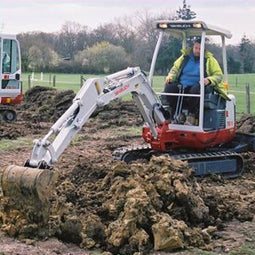 Takeuchi TB016 Buckets, Pins and Bushes, and Attachments
