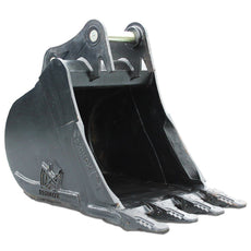 "Case CX245SR Digging Bucket - 39"" (c/w Pins)"