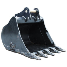 "Case CX245SR Digging Bucket - 48"" (c/w Pins)"