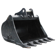 "Hitachi ZX220W-5 Digging Bucket - 60"" (c/w Pins)"