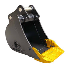 "Volvo ECR88D Utility Bucket with Unitusk Blade - 18"" / 450mm"