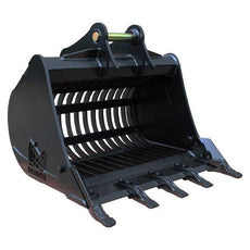 Hitachi ZX25 Riddle Bucket / Shaker Bucket